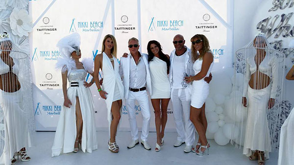 nikki beach white party 2015